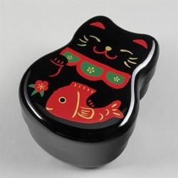 Bentobox Maneki zwart