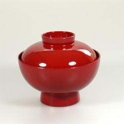 Dekschaal Japans lak rood