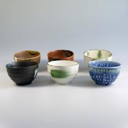 Set van 6 kommen Yokubari