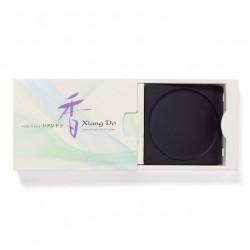 Wierookschaal Xiang Do 10 cm Japan zwart