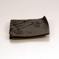 Wierookhouder vierkant zwart