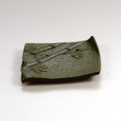 Wierookhouder vierkant groen