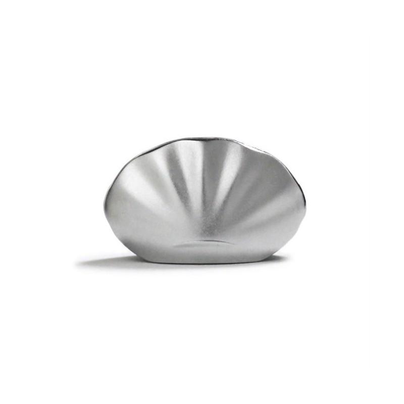 Wierookhouder Kolip Shell zilver
