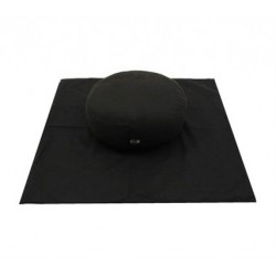 Meditatiemat basic foam zwart excl kussen