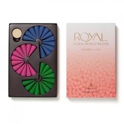 Wierook kegels Floral World ROYAL