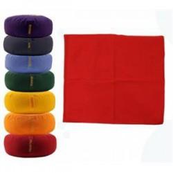 Meditatiemat basic foam rood