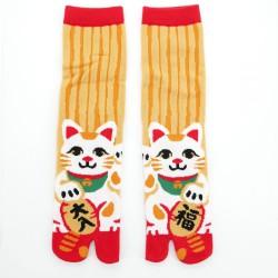 Tabi sokken Maneki Neko 23-25 cm