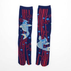 Tabi sokken Koi 25-28 cm