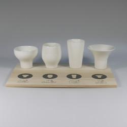 Sake set voor 4