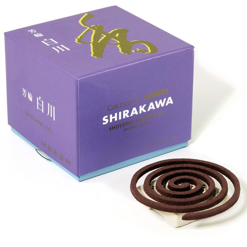 Wierook Horin - Shirakawa spiraal