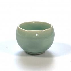 Sake set celadon