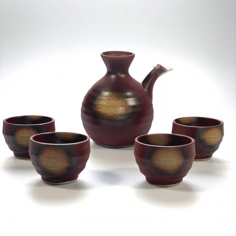 Sake set Tetsu-Yu