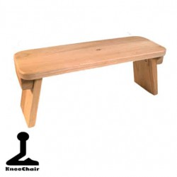 Meditation bench  American oak