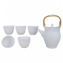 Kannon Teapot and cups