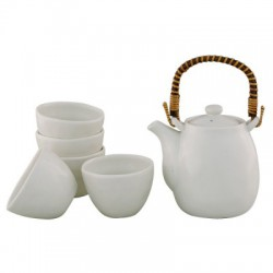 Asobi Teapot and cups