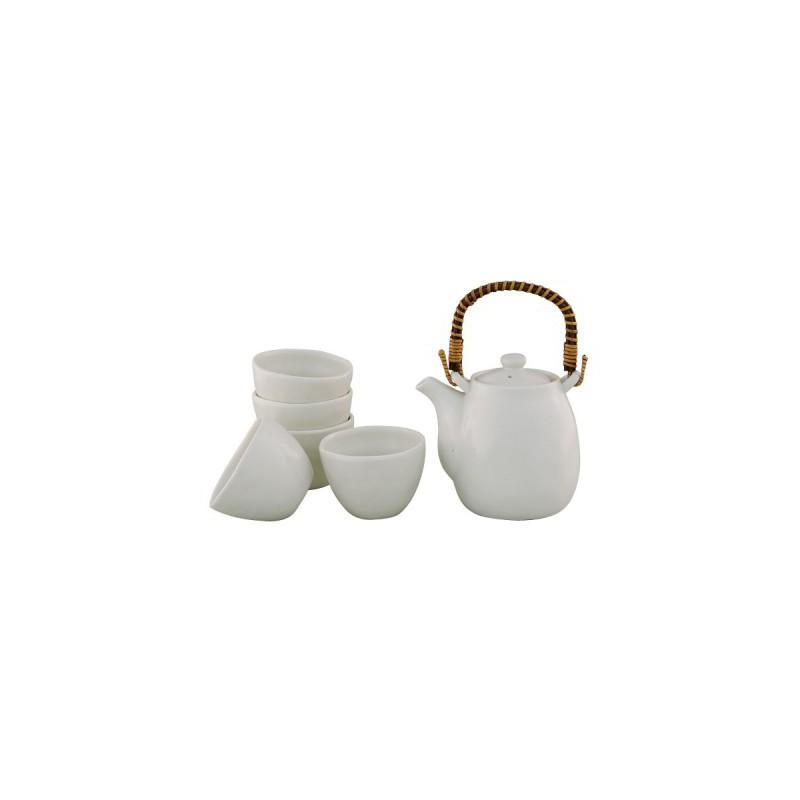 Asobi Teapot and cups