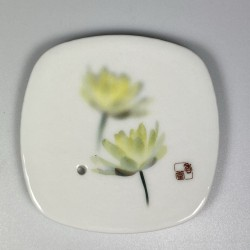Incense Bowl White Lotus
