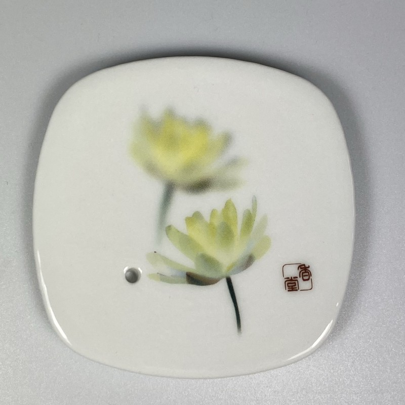 Wierookschaal Witte Lotus