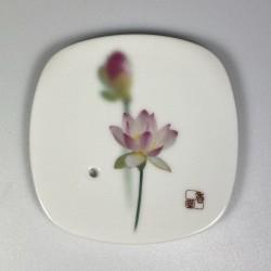 Incense Bowl Pink Lotus