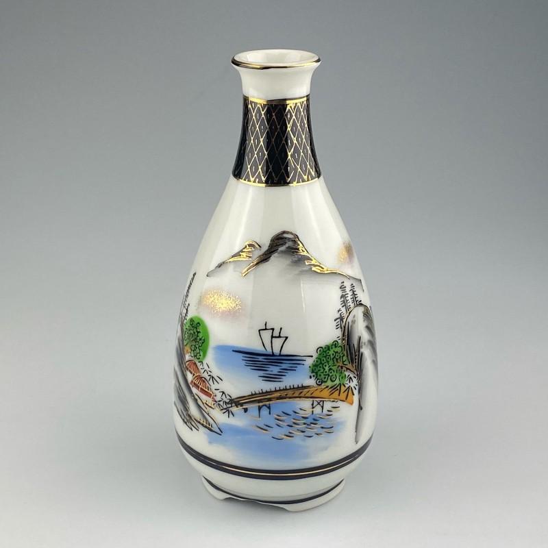 Sake bottle Kutani