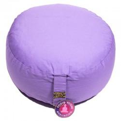 Zafu Yogi Yogini 33x17 cm Light Purple Eco Meditation Cushion