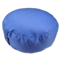 Zafu Yogi Yogini 33x17 cm Blue Eco Meditation Cushion