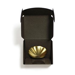 Incense holder Kolip Shell - Matt Gold