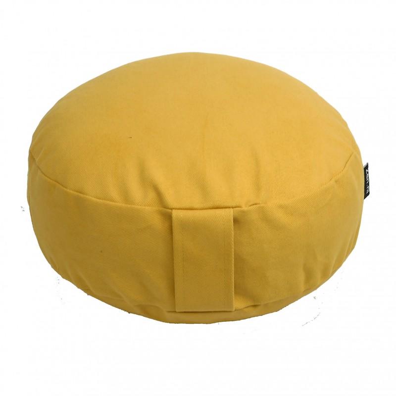 Meditatiekussen NL geel