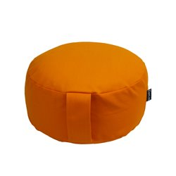 Meditatiekussen NL extra hoog oranje