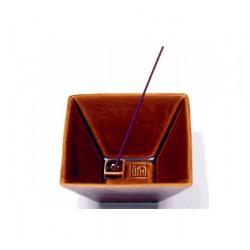 Incense Burner Yukari brown
