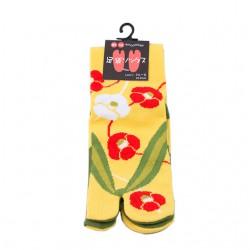 Tabi socks Tsubaki 23-25 cm