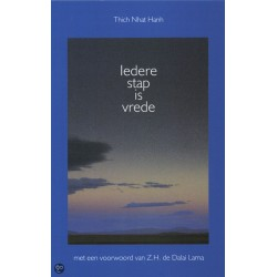 Iedere stap is vrede